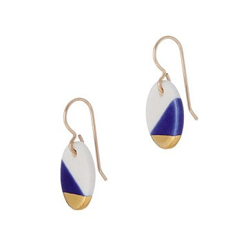 Porcelain Drop Earrings