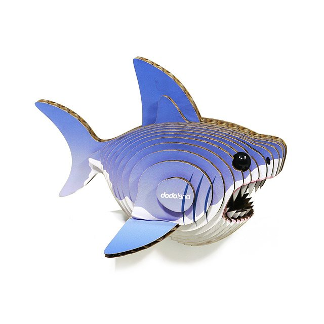 Mini Shark 3D Model Kit