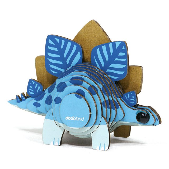 Mini Stegosaurus 3D Model Kit