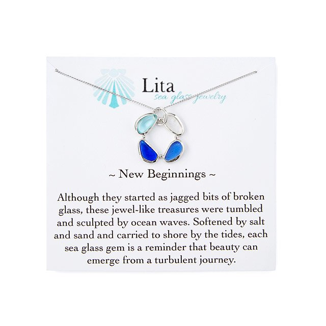 New Beginnings Sea Glass Necklace