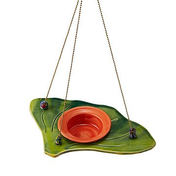 Ginkgo Leaf Jelly Bird Feeder