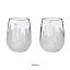 Etched Skyline Wine Glasses - Set of 2 3 thumbnail