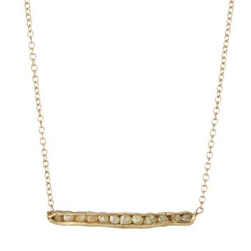Cobblestone Horizontal Necklace