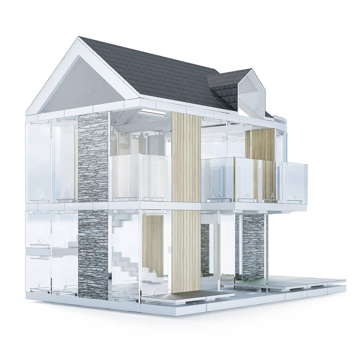 Architecture model house kits