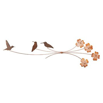 Hummingbird Flower Wall Art