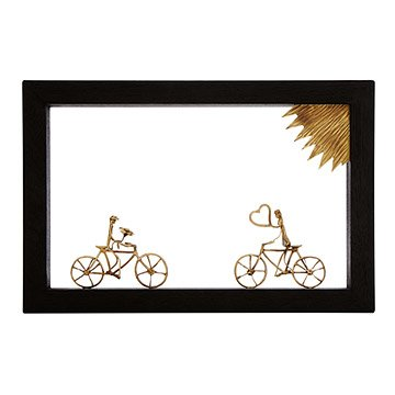 Bike Lovers Wall Sculpture