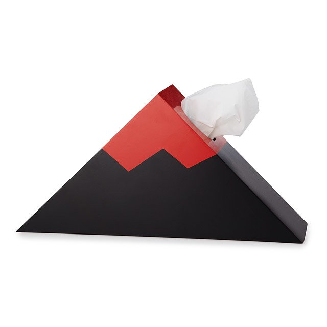 Erupting Volcano Tissue Box Holder