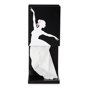 Graceful Ballerina Tissue Box Holder