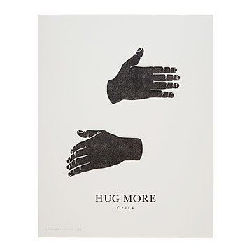 Hug More Transfer Print