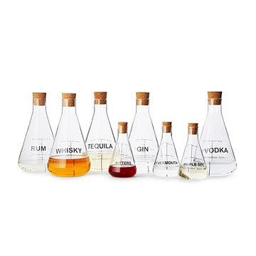 Mixology Flask Set