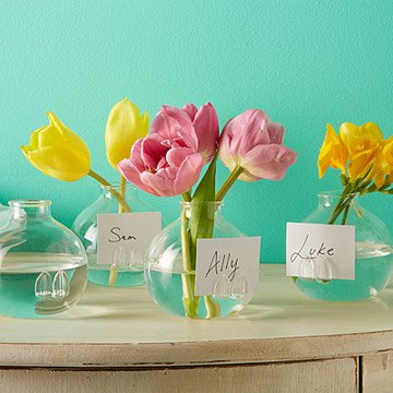 Place Card Holder Vases - Set of 4