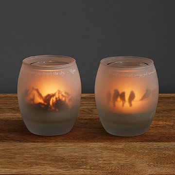 Flickering Flame Tealight Holder