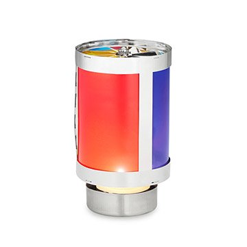 Spinning Rainbow Candle Holder