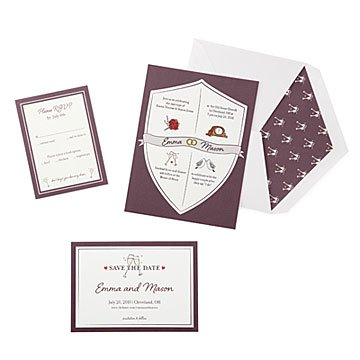 Wedding Crest Wedding Stationery