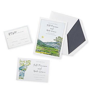 American Valley Wedding Stationery