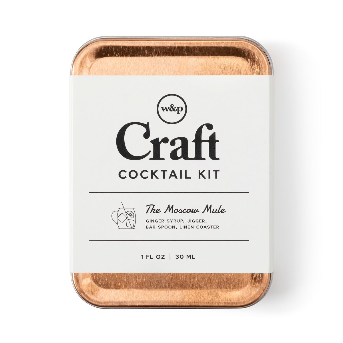 Moscow Mule Carry On Cocktail Kit Airplane Cocktails