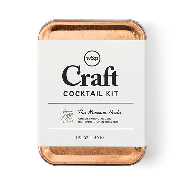 Moscow Mule Carry-On Cocktail Kit