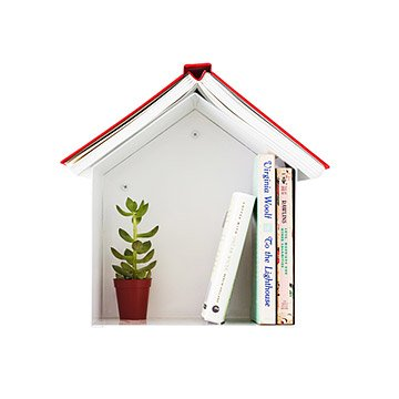 Birdhouse Bookshelf