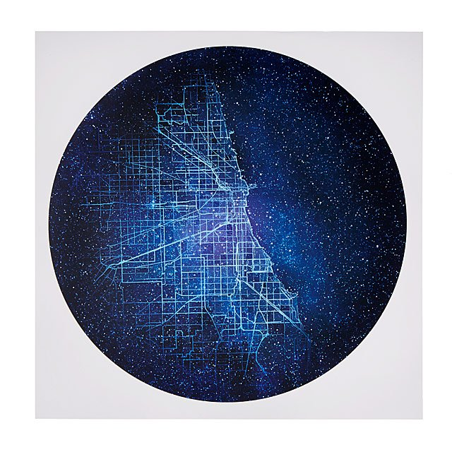 City Constellation Map