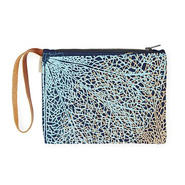 Recycled Denim Clutch