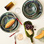 Recycled Wine Bottle Platter with Spreader 3 thumbnail