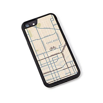 City Bike Map Phone Case