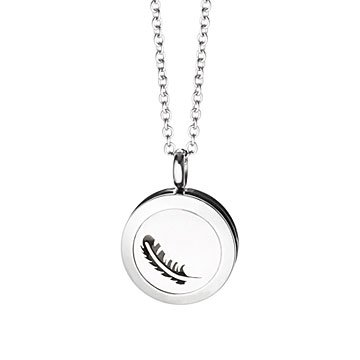 Stainless Steel Essential Oil Diffuser Necklace