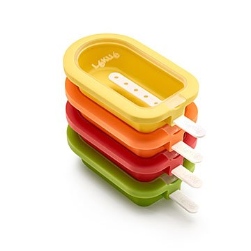 Stackable Ice Pop Molds - Set of 4