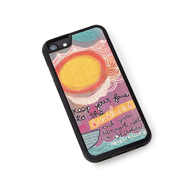 Keep Your Face to the Sunshine Phone Case
