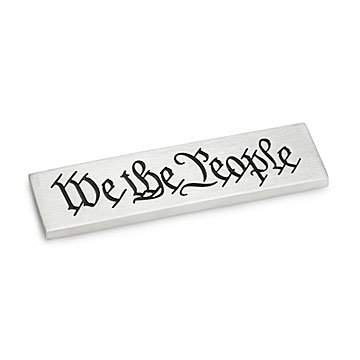 We the People Paperweight