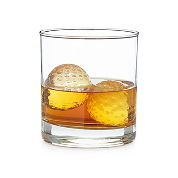 Golf Ball Whiskey Chillers - Set of 2