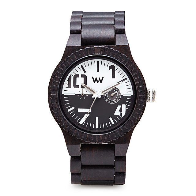 Oblbio Black And White Wood Watch