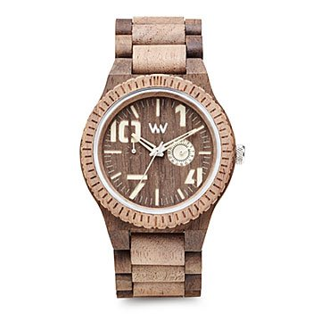 Rough Choco Nut Wood Watch