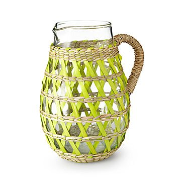 Woven Sea Grass Pitcher