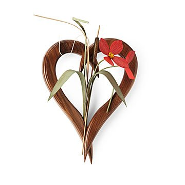 Symbol of Love Heart Vase