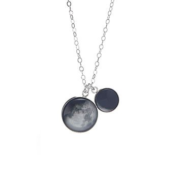 Motherhood Custom Moon Phase Pendant