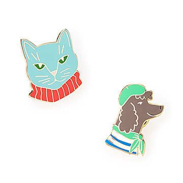 Cat & Dog Pins