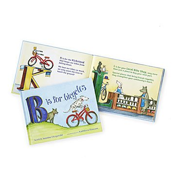 B is for Bicycles Alphabet Book