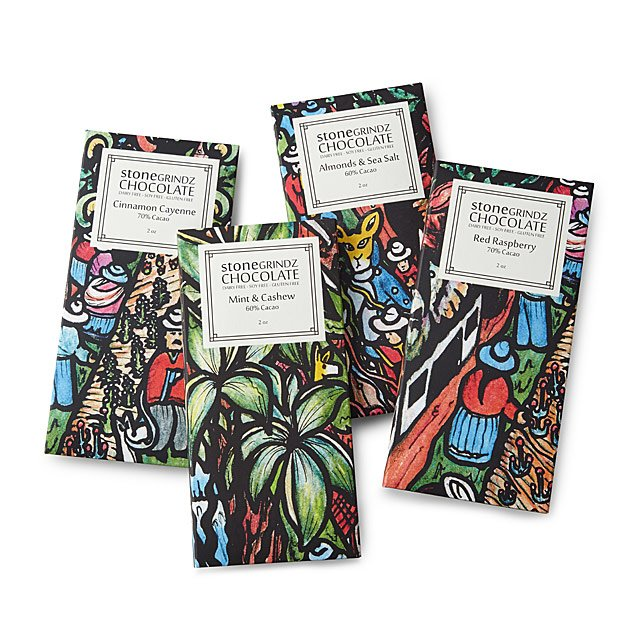 Craft Chocolate Inclusion Bars