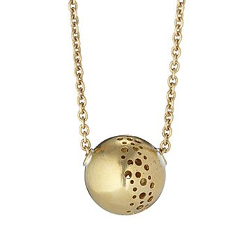 Moon Globe Necklace