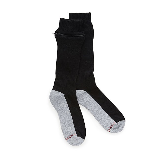 Passport Security Pocket Socks