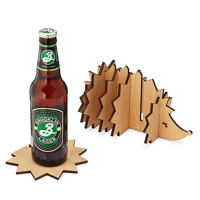 Hedgehog Coaster Caddy