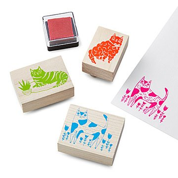 Cats Stamp Kit