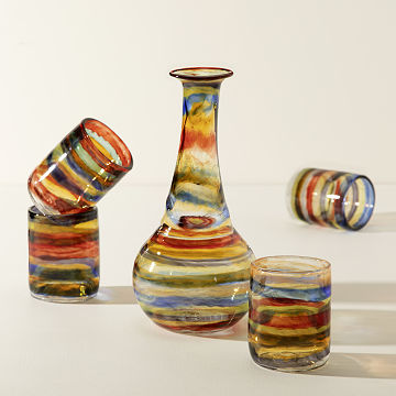 Sunset Glasses - Set of 2
