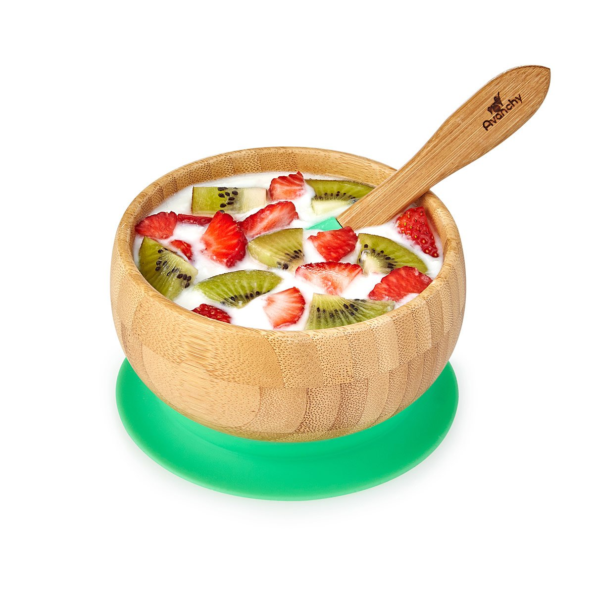 Bamboo Suction Baby Bowl Set Baby Dish Sets Baby Shower
