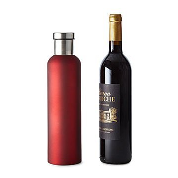 Insulated Wine Chilling Bottle