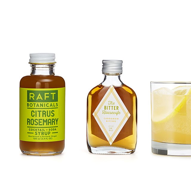 Craft Cocktail Bitters & Syrup Set