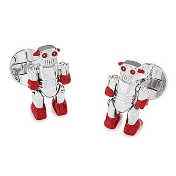 Moving Robot Cufflinks