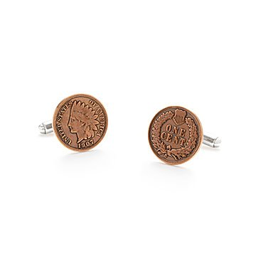 Indian Head Penny Cufflinks