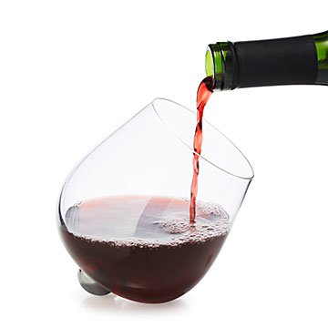 Rotating Aerating Wine Glass Set